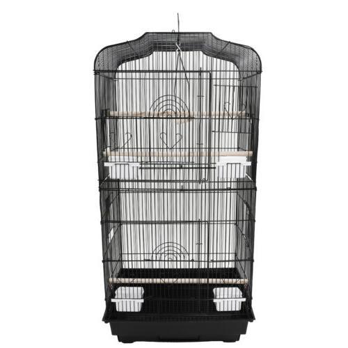 Black Bird Cage Parakeet Bird Finch Bird