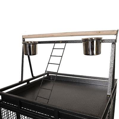 Black Large Cage Macaw Supplies