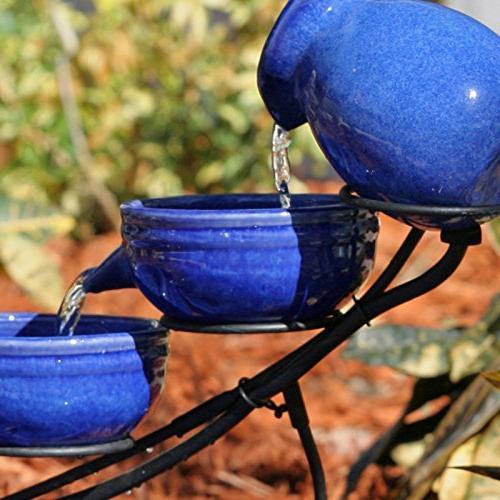 Smart Ceramic Cascade Fountain