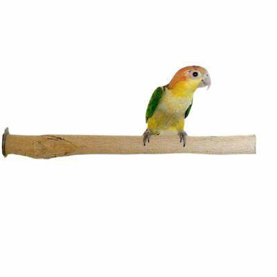 bottlebrush perch raw wood bird cage branch