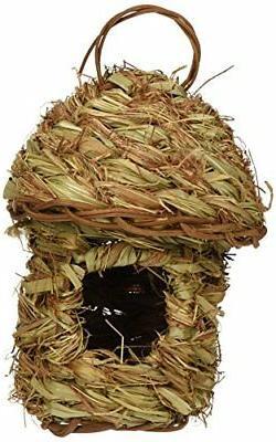 Prevue Pet Products BPV1158 Finch Bird Pagoda Top Hut Nest