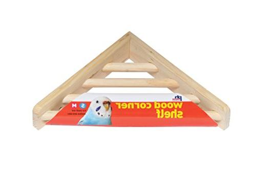 Prevue Products BPV3300 Wood Laddered Platform Bird Cages, 7 7-Inch