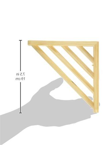 Prevue Wood Platform for 7 by 7-Inch
