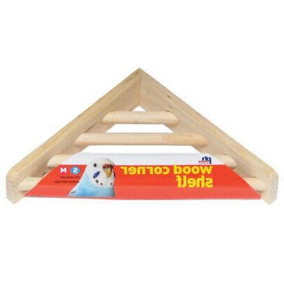 bpv3300 wood corner shelf laddered