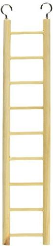 Prevue Pet Products BPV385 Birdie Basics 9-Step Wood Ladder