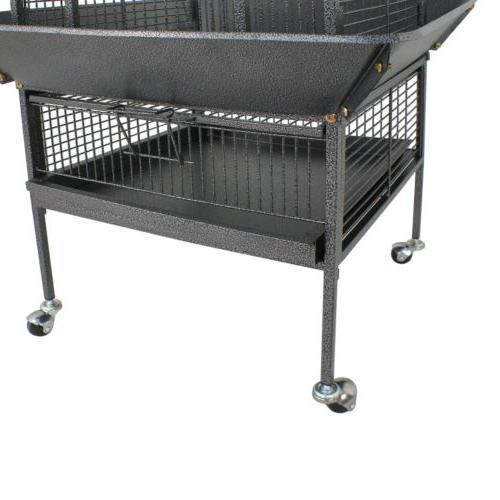 Cage Bird Cockatiel Stand Top Supply Wire