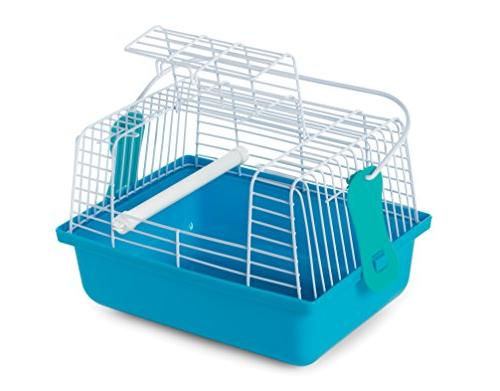 Prevue Pet Products Travel Cage Small Blue