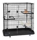 Large Cat & Pet Cage Home Multilevel Play Area Heavy Duty Pl