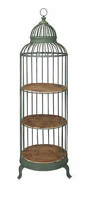 charming charlotte birdcage shelf