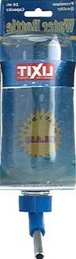 LIXIT Chew Proof Glass Water Bottle 16oz