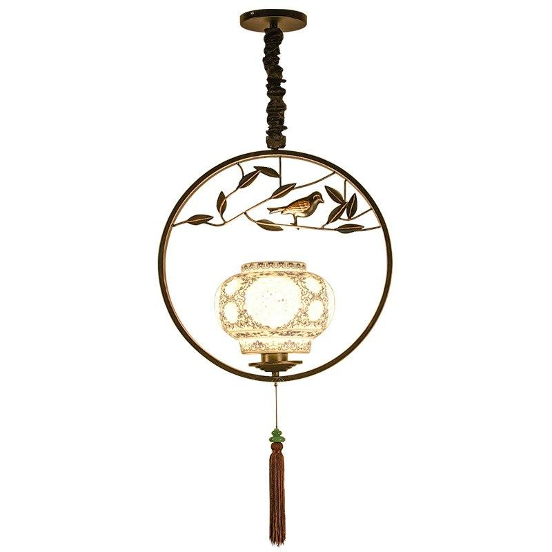 Chinese <font><b>bird</b></font> chandelier individual room lighting tea