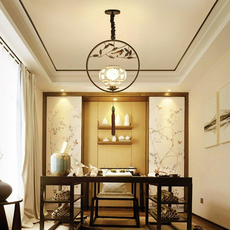Chinese <font><b>bird</b></font> individual room lighting antique house bar lighting