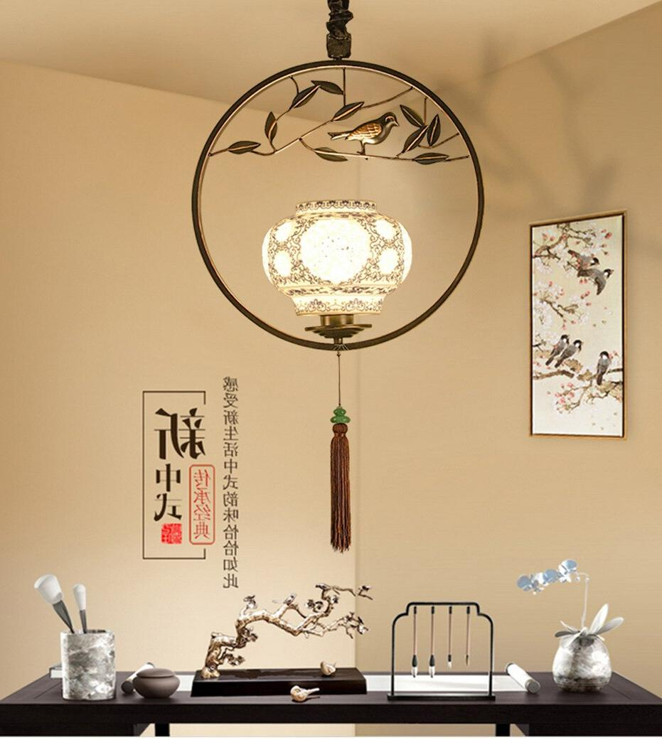 Chinese <font><b>bird</b></font> chandelier creative individual room house bar lighting