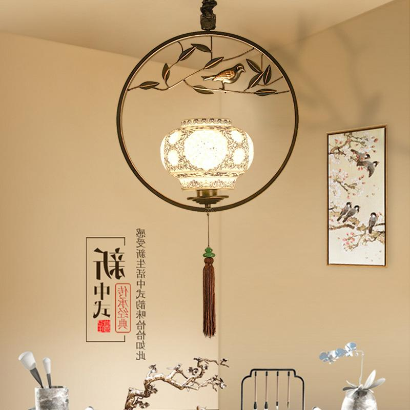 chinese font b bird b font chandelier