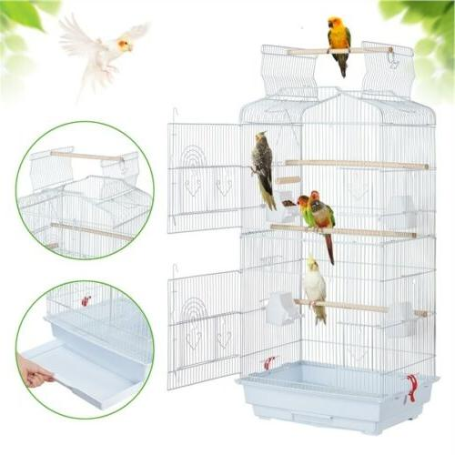 """41"""" Play Open Top Parakeet Bird Cages for Budgies Cockatiels"""