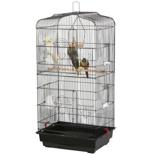 Lovebirds Canary Finch Parrot Flight Cage