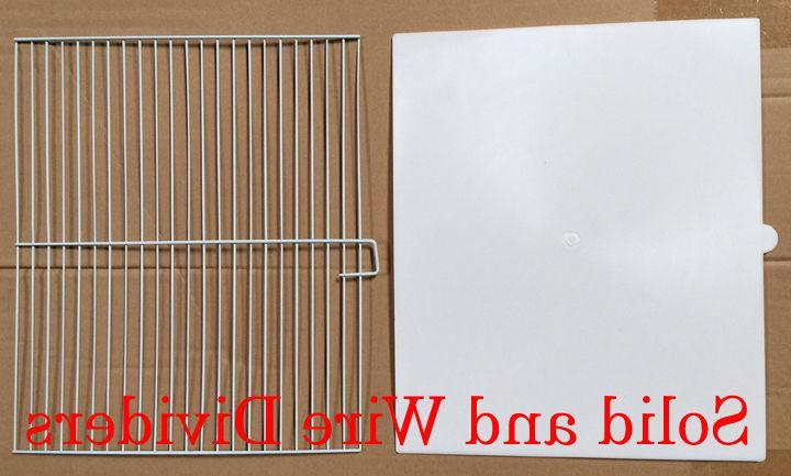 COMBO: 4 Stack & Lock Double Breeding Bird Center Dividers WT074