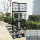 COMBO: 4 Stack and Lock Double Breeder Bird Breeding Cages D