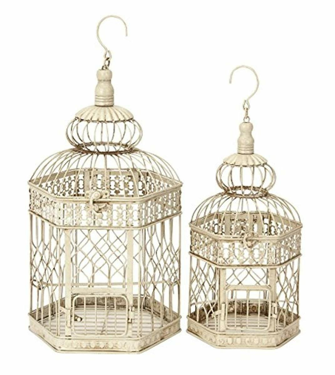 deco 79 metal bird cage 21 inch