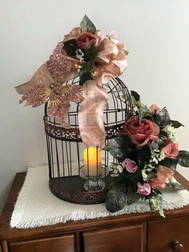 Decorative Bird Cage Wedding Or