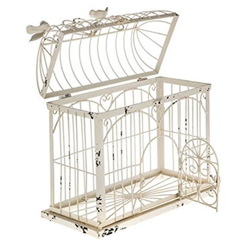 BIRDCAGE ANTIQUE WHITE x