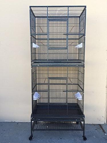 double durable stackable cage 3
