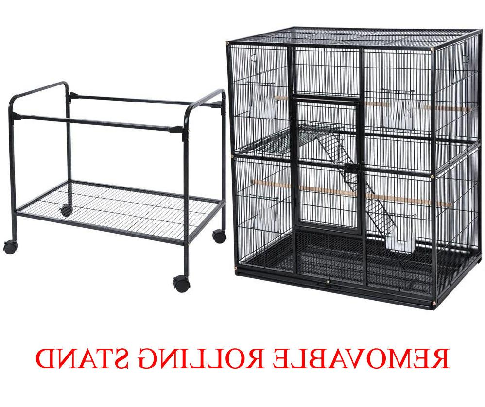 LARGE Double Iron Cage Cockatiel Ferret Sugar Glider WTE 375