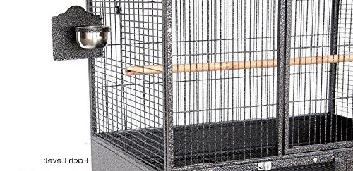 """Mcage Double Stackers 1/2"""" Bar Heavy Breeding Parrot 10026 A"""