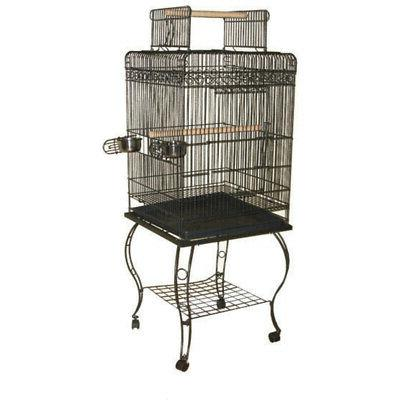 A & E Cages Economy Play Top Cage - Platinum