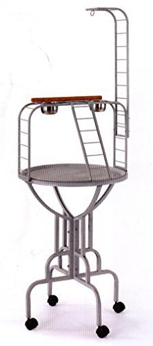 NEW Elegant Design Wrought Iron Parrot Bird Play Gym Ground