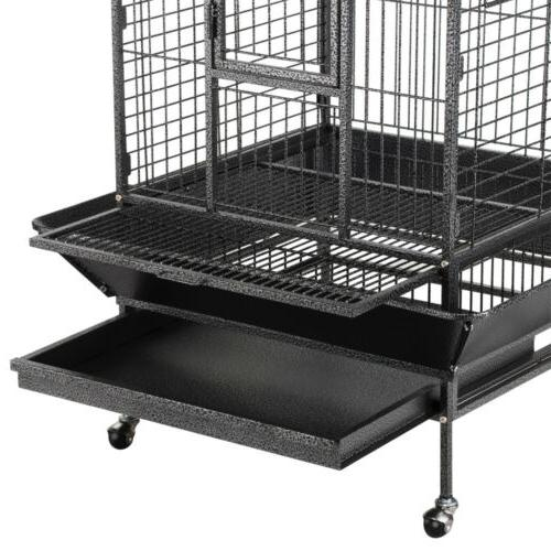 Extra Large Open Bird Cages for Macaws Conures