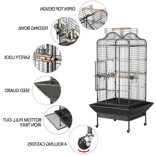 Extra Large Open Playtop Bird for Macaws Cockatiels