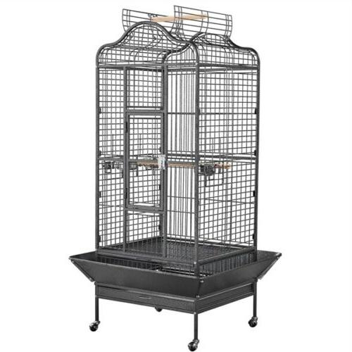 extra large open playtop bird cages