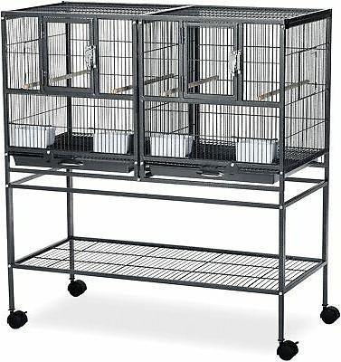 f070 hampton deluxe divided breeder cage