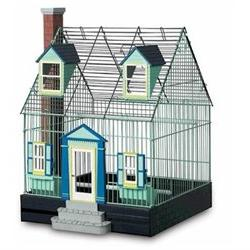 Featherstone Heights Cape Cod Bird Cage - PP-290
