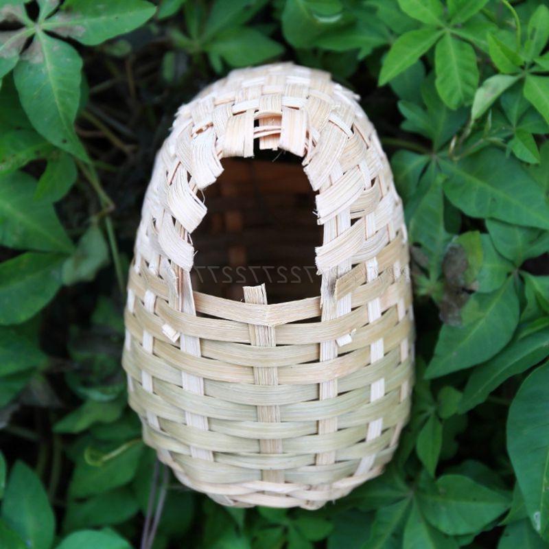 <font><b>Bird</b></font> Bamboo <font><b>Finch</b></font> Hideout Outdoor Shelter 19 Dropship