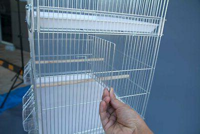 Galvanised Cages Parakeet Budgie