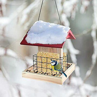 Garden Bird Feeder Bird Feeder With 2 Suet Gre