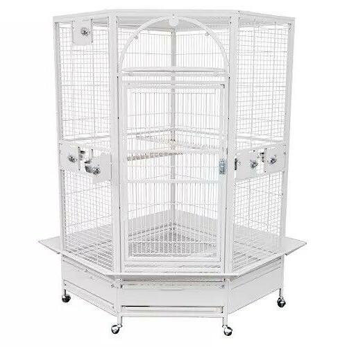 KINGS CAGES GC 14022 CORNER PARROT CAGE bird toys African Gr