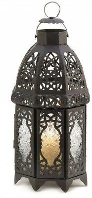 Gifts and Decor Lattice Lantern Candle Holder Home Wedding D