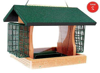 going green large premier bird feeder