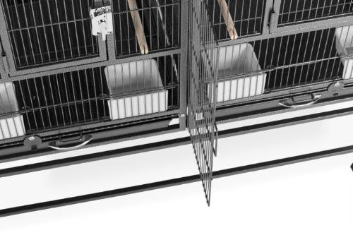 Prevue Pet Products F075 Hampton Divided Breeder Cage