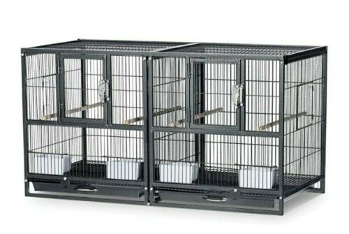 hampton deluxe divided breeder cage
