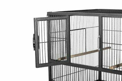 Prevue Pet Hampton Deluxe Divided Breeder System with Stand