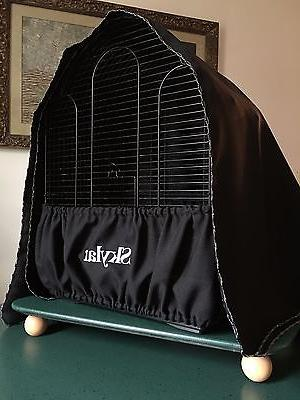Handcrafted Fabric Cage Seed Guard Cover