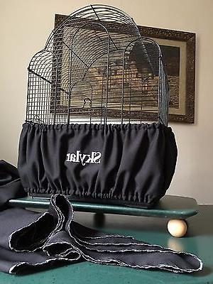 Handcrafted Black Cage Guard