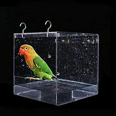 hanging bird bath cube bathtub shower box