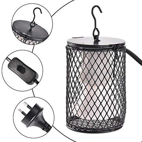 Heat Lamp 100W Heat Reptile Anti – Lamp Ceramic Pets, Amphibians, Hamsters,