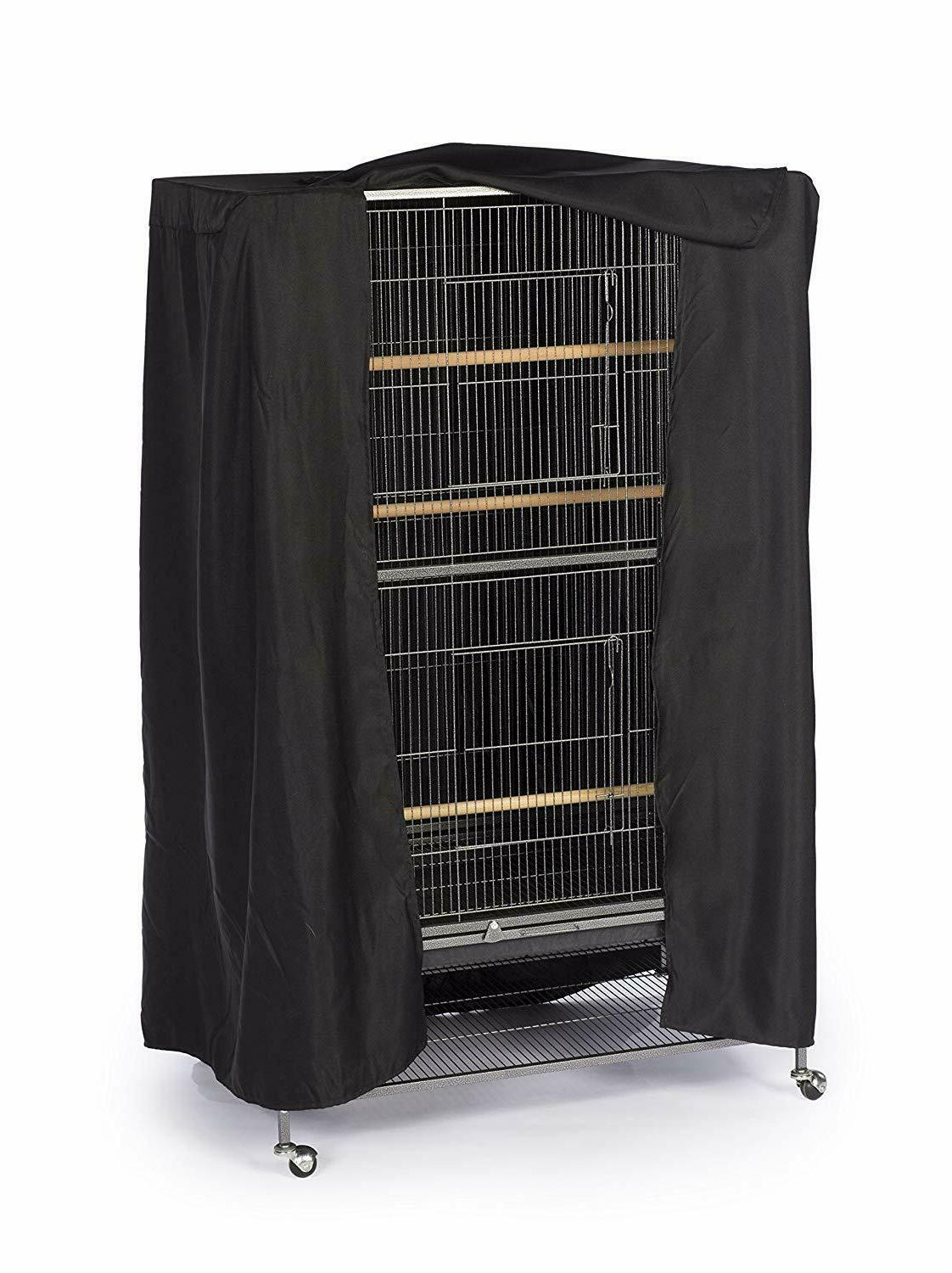 Prevue Good Night Cage Cover, Large, Black