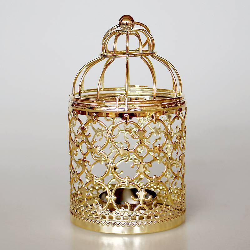 Hollow Cage Holder Candlestick Lantern Home Decor